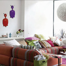 Фотография: Гостиная в стиле Современный, Декор интерьера, Часы, Декор дома – фото на InMyRoom.ru