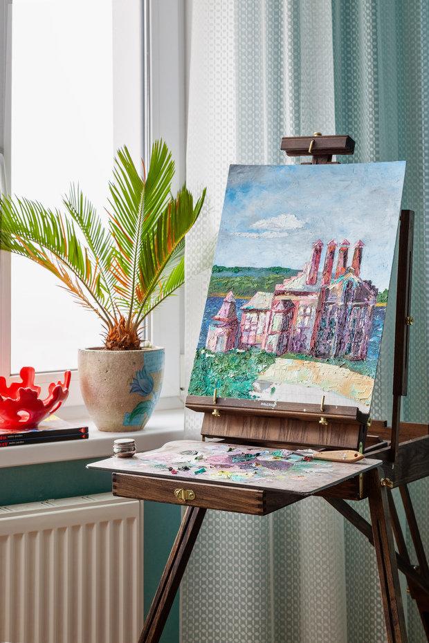 Фотография: Декор в стиле Современный, Эклектика, Квартира, Проект недели, Химки, 2 комнаты, 60-90 метров, Лилия Салах – фото на INMYROOM