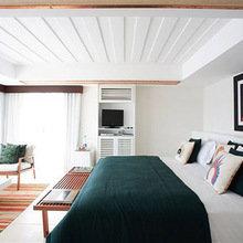 Фотография: Спальня в стиле Минимализм, Дома и квартиры, Городские места, Отель, Бразилия – фото на InMyRoom.ru