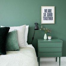 Фото из портфолио Цвет Bohemian green – фотографии дизайна интерьеров на InMyRoom.ru