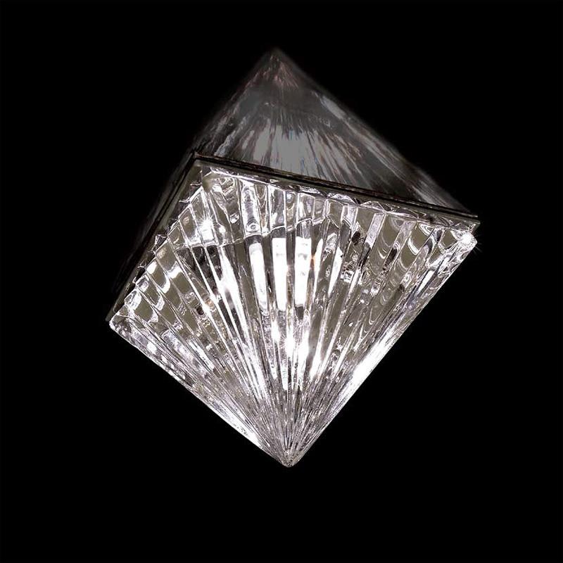 Купить Встраиваемый светильник Beby Group Chrome из прозрачного хрусталя, inmyroom, Италия