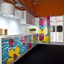 Фотография: Кухня и столовая в стиле Эклектика, Индустрия, Новости, Принты – фото на InMyRoom.ru