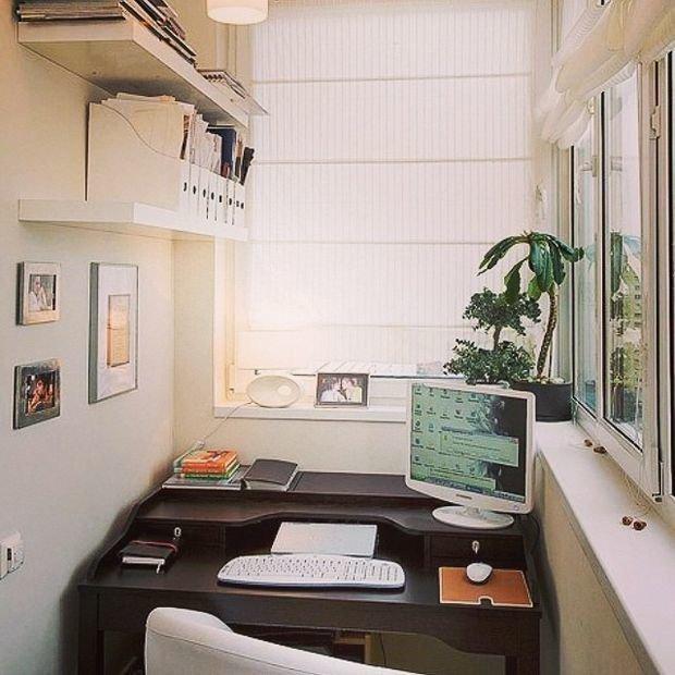 Рабочее место для маникюра балкон.