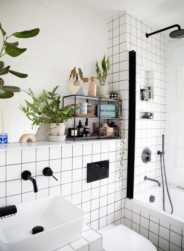 Фотография: Ванная в стиле Скандинавский, DIY – фото на INMYROOM