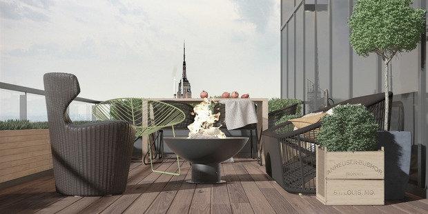 Фото из портфолио Апартаменты Natural Colors – фотографии дизайна интерьеров на INMYROOM