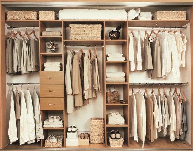 Фотография: Гардеробная в стиле Современный, Советы, гардеробная в квартире – фото на INMYROOM