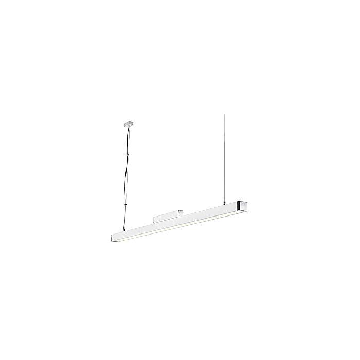 Светильник подвесной SLV Q-Line Single белый / хром
