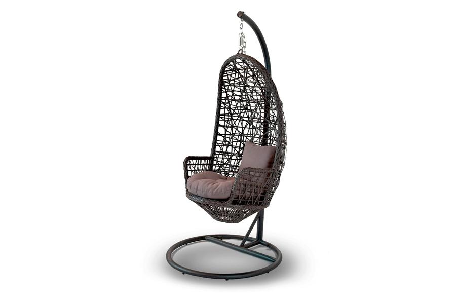 Подвесное кресло венеция из искусственного ротанга