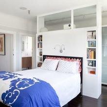 Фотография: Спальня в стиле Скандинавский, Советы, как зонировать студию, Марина Лаптева – фото на InMyRoom.ru