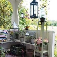 Фотография: Терраса в стиле Кантри, Балкон, Интерьер комнат – фото на InMyRoom.ru