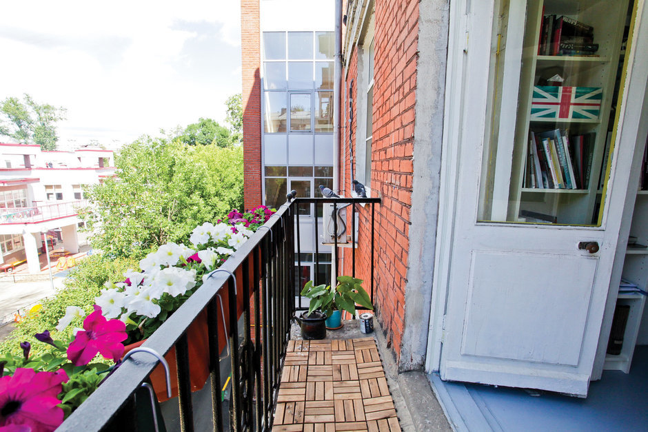 Фотография: Балкон, Терраса в стиле Лофт, Квартира, Дома и квартиры, IKEA – фото на InMyRoom.ru