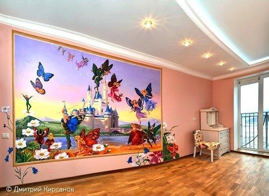 Фотография: Спальня в стиле Скандинавский, Декор интерьера, DIY, Роспись – фото на InMyRoom.ru
