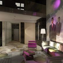Фото из портфолио Проект апартаментов – фотографии дизайна интерьеров на INMYROOM