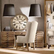 Фотография: Офис в стиле Кантри, Классический, Современный, Декор интерьера, Часы, Декор дома – фото на InMyRoom.ru