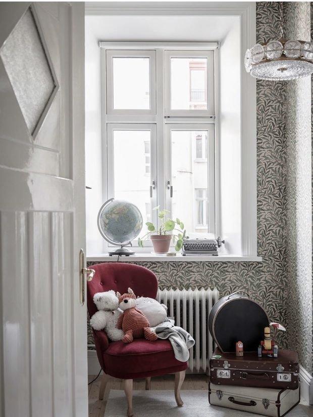 Фотография: Детская в стиле Скандинавский, Декор интерьера, Квартира, Швеция, Белый, Черный, Стокгольм, ИКЕА, хранение вещей, хранение в ванной комнате, 3 комнаты, 60-90 метров – фото на INMYROOM