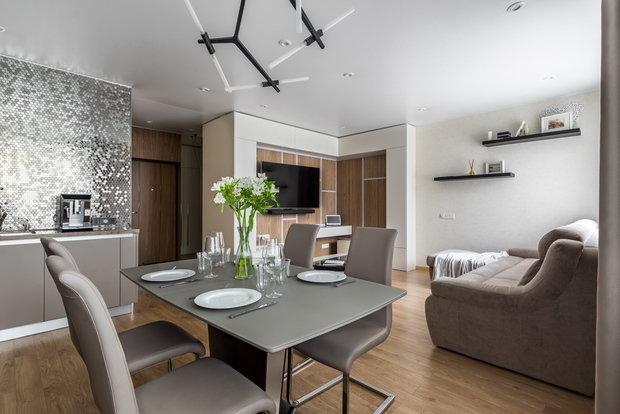 Фото из портфолио Квартира для молодой пары ( фотофиксация квартиры в эко-комплексе) – фотографии дизайна интерьеров на INMYROOM