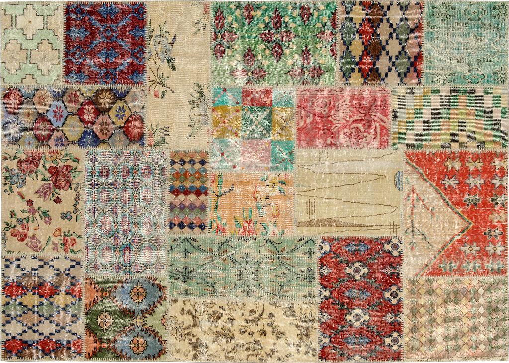 Купить Ковер Art Deco Patchwork 240x170, inmyroom, Турция