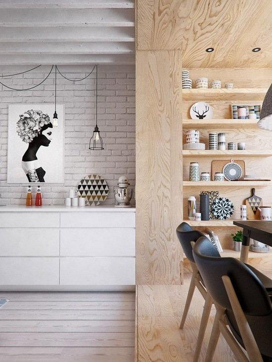 Фотография:  в стиле , Прованс и Кантри, Декор интерьера, Советы, Эко, фанера в интерьере, интерьерная фанера, отделка стен фанерой – фото на InMyRoom.ru