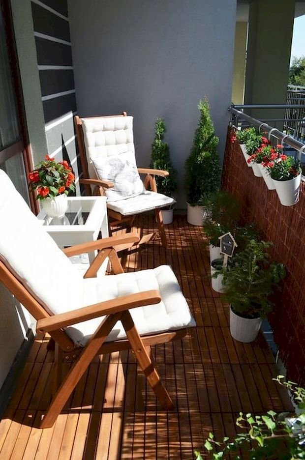 Фотография: Балкон в стиле Скандинавский, Современный, Советы, балкон в квартире, Leroy Merlin, балкон летом – фото на INMYROOM