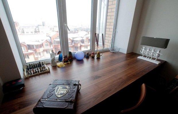 Фотография: Кухня и столовая в стиле Современный, Гостиная, Скандинавский, Малогабаритная квартира, Квартира, Мебель и свет, Советы – фото на InMyRoom.ru