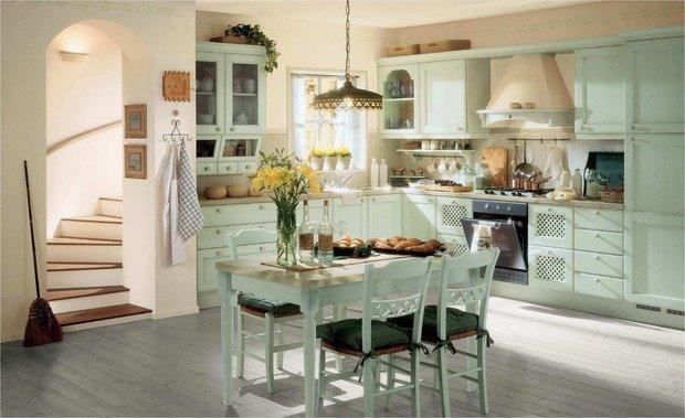 Фотография: Кухня и столовая в стиле Прованс и Кантри, Ванная, Советы – фото на InMyRoom.ru
