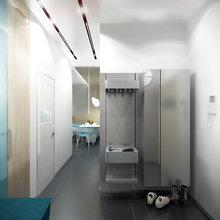 Фото из портфолио Двухкомнатная квартира в жилом комплексе Ориенталь в Санкт-Петербурге. – фотографии дизайна интерьеров на InMyRoom.ru
