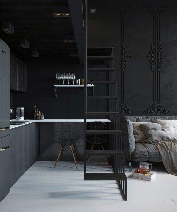 Фотография: Кухня и столовая в стиле Эклектика, Гид – фото на INMYROOM