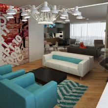 Фото из портфолио Квартира фотостудия – фотографии дизайна интерьеров на InMyRoom.ru