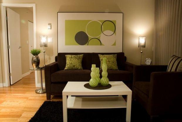 Фотография: Мебель и свет в стиле Классический, Декор интерьера, Квартира, Дом, Декор, Зеленый – фото на InMyRoom.ru