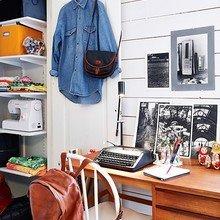 Фотография: Офис в стиле Скандинавский, Современный, Декор интерьера, Квартира, Цвет в интерьере, Дома и квартиры, Стены, Гетеборг – фото на InMyRoom.ru