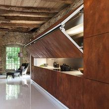Фотография: Кухня и столовая в стиле Лофт, Современный, Хай-тек, Декор интерьера, Декор, CorTen, сталь-кортен, кортен – фото на InMyRoom.ru