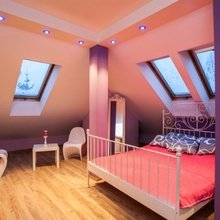 Фотография: Спальня в стиле Хай-тек,  – фото на InMyRoom.ru