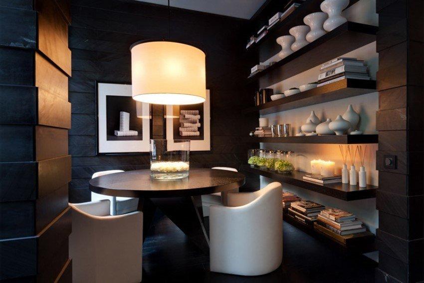 Фотография: Кухня и столовая в стиле Современный, Великобритания, Мебель и свет, Цвет в интерьере, Индустрия, Люди, Лондон – фото на InMyRoom.ru