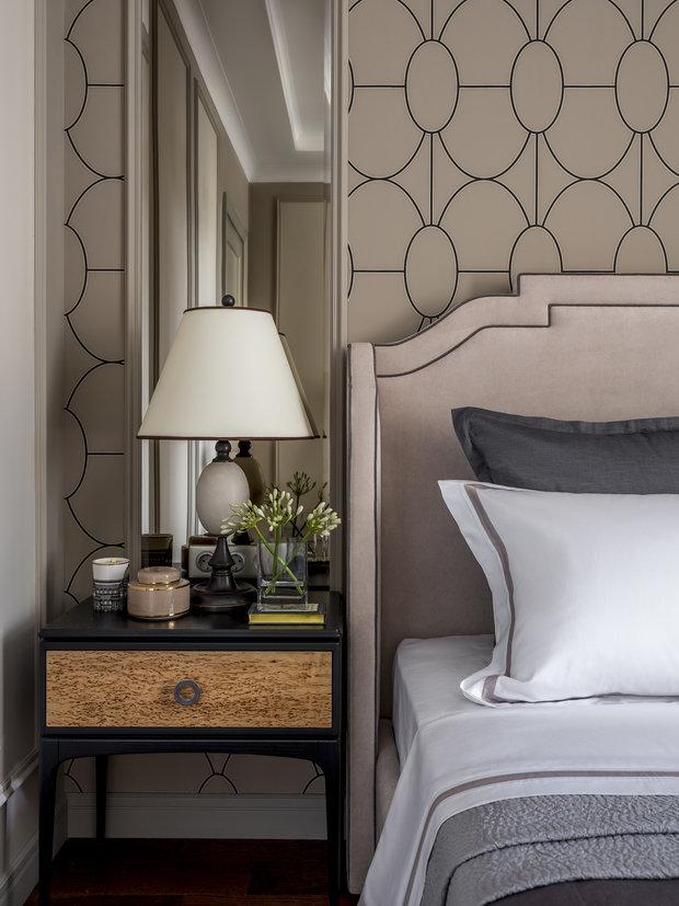 Фотография: Спальня в стиле Классический, Современный, Квартира, Проект недели, Москва, 4 и больше, Более 90 метров, Anddesign – фото на INMYROOM