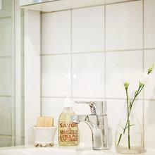 Фотография: Ванная в стиле Скандинавский, Современный, Декор интерьера, Квартира, Дома и квартиры, Прованс, Шебби-шик – фото на InMyRoom.ru