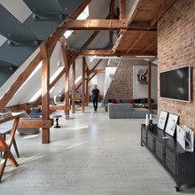 Фото из портфолио Лофт для молодого человека в Польше – фотографии дизайна интерьеров на INMYROOM