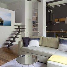 Апартаменты в Хамовниках, метраж 48 кв. м. Дизайн: Space for Life. Фото: Екатерина Закливенец.
