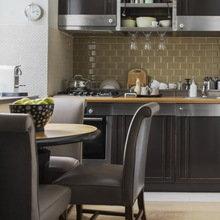 Фотография: Кухня и столовая в стиле Кантри, Декор интерьера, Мебель и свет, Проект недели, Лена Ленских – фото на InMyRoom.ru