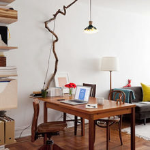Фотография: Офис в стиле Кантри, Скандинавский, Современный – фото на InMyRoom.ru