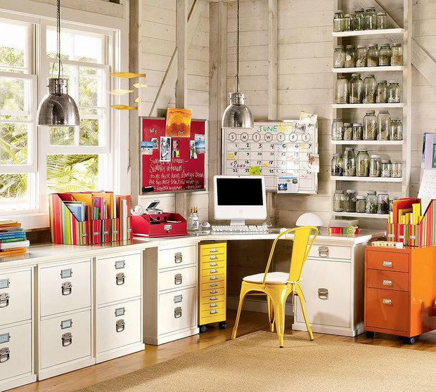 Фотография: Офис в стиле Лофт, Детская, Интерьер комнат – фото на InMyRoom.ru