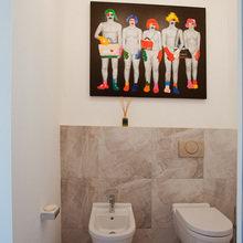Фотография: Гардеробная в стиле Лофт, Квартира, Проект недели – фото на InMyRoom.ru