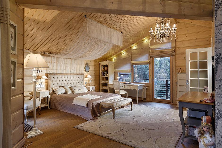 Фотография: Спальня в стиле , Классический, Дом, Дома и квартиры, Проект недели, Дача – фото на InMyRoom.ru