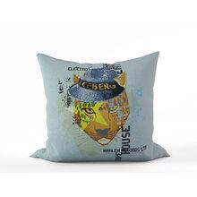 Декоративная подушка: Стильный гепард