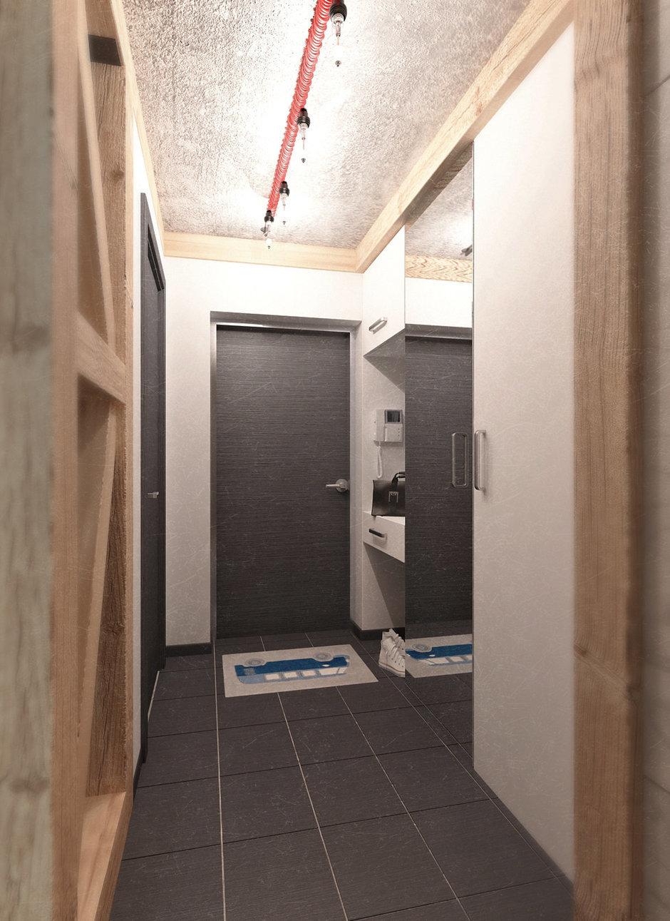 Фотография: Прихожая в стиле Лофт, Квартира, Дома и квартиры, IKEA, Проект недели, Cosmorelax – фото на InMyRoom.ru