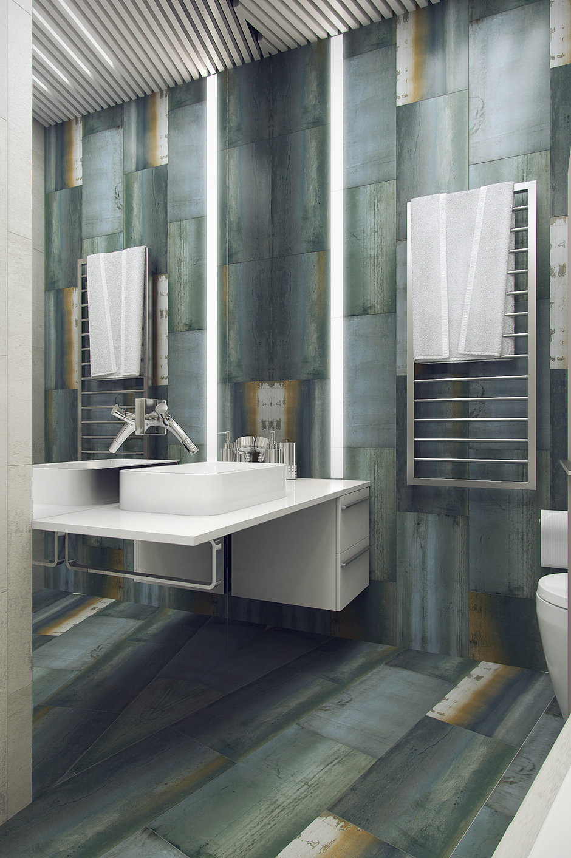 Фотография: Ванная в стиле Современный, Эклектика, Квартира, Проект недели – фото на InMyRoom.ru