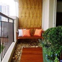 Фотография: Балкон в стиле Кантри, Современный, Эко, Квартира, Декор, Советы, как обустроить открытый балкон, городской балкон, открытый балкон, идеи для открытого балкона – фото на InMyRoom.ru