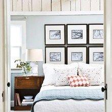 Фотография: Спальня в стиле Кантри, Декор интерьера, Декор дома, Стены, Картина – фото на InMyRoom.ru