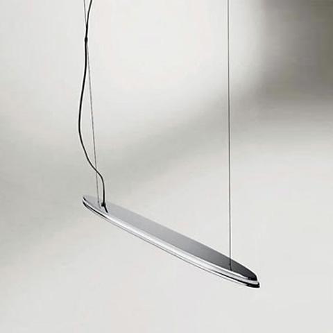 Купить Подвесной светильник Axo Light Ledge из хромированного металлического каркаса, inmyroom, Италия