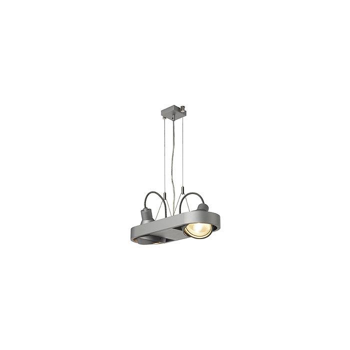 Светильник подвесной Aixlight R Duo серебристый