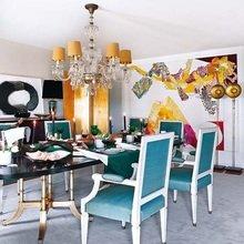 Фотография: Кухня и столовая в стиле Кантри, Эклектика, Декор интерьера, Мебель и свет, Декор дома, Стол, Лампа, Лиссабон, Торшер – фото на InMyRoom.ru